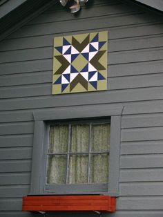 How I made my own Barn Quilt