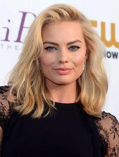 Margot Robbie - hair & eyebrows inspiration.