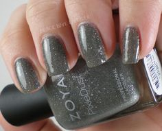 @Zoya Nail Polish PixieDust London with top coat