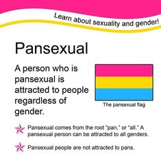 I Am A Pansexual