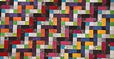 Once The Chain Link Quilt Catches Your Eye, It Won't Let Go!