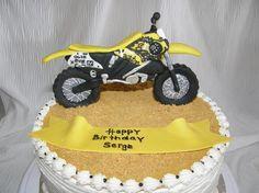 3D Motocross Bike cakepins.com