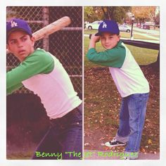 My son Gabe as Benny The Jet Rodriguez Halloween 2013