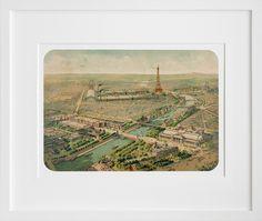 Vue panoramique de l'Exposition Universelle, 1900, by 20x200 Artist Fund | 20x200