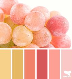 lovely pink blush to golden colour palette...x