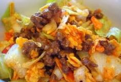 Taco Salad :: Ohio Amish Country Recipes. LeeAnn Miller. Miller Haus.