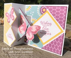Seeds of Thoughtfulness with Lorin Goodchild Stampin' Up! 2017-2018 Annual Catalogue Watercolour Wings