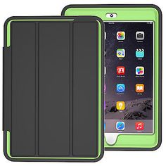 Shockproof Heavy Duty Smart Magnetic Case Cover for Apple iPad Mini 1 2 3 Green