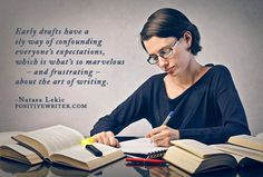 """The question every writer with an early draft wants to ask editors and literary agents is, """"Should I keep writing?"""" Let's talk about that..."""