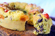 Ciambella salata veloce tonno e olive ricetta facile vickyart arte in cucina