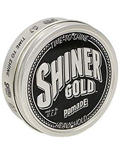 Shiner Gold 4 Oz Heavy Strong Hold Pomade Greaser Made In Usa Free Comb Mens Pomade, Hair Pomade, Hair Gel For Men, Hair Care Brands, Mens Hair Trends, Braided Hairstyles Tutorials, Curly Hair Care, Good Hair Day, Hair Care Routine