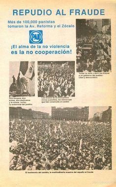 Para los panistas que no tienen memoria y critican la protesta social...