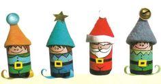 Addobbi natalizi folletti tappi sughero  http://tempolibero.pourfemme.it/articolo/addobbi-natalizi-folletti-di-natale-con-tappi-di-sughero/5993/