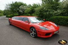 Ferrari Limo Photo Gallery from CarsForStars Prom Car, Limo, Ferrari, Photo Galleries, Gallery, Vehicles, Exotic, Cars, Rolling Stock