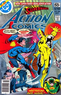 Action Comics #488, october 1978, cover by Jose Luis Garcia-Lopez and Dick Giordano.