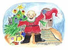 Tonttu on löytänyt lakkinsa Christmas Things