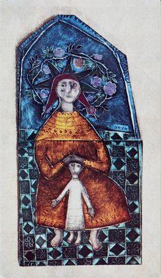 Rut Bryk Pottery Angels, Handmade Ceramic, Land Art, Ceramic Artists, Storytelling, Cool Art, Contemporary Art, Whimsical, Saints