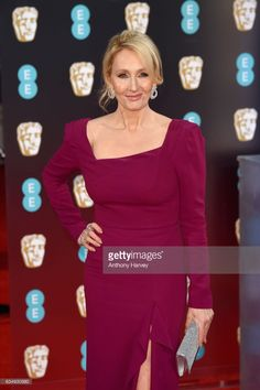 Novelist J. K. Rowling attends the 70th EE British Academy Film Awards (BAFTA) at Royal Albert Hall on February 12, 2017 in London, England.