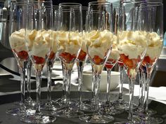 A delicious sounding dessert!  Baileys Sabayon with Strawberries