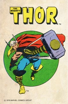 """comicbookartwork: """"The Mighty Thor """""""