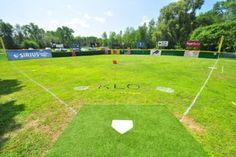 Keuka Lake Olympics Wiffle® Ball Field of the Month Backyard Baseball, Wiffle Ball, 10 Year Anniversary, Baseball Field, Olympics, Ranch, Environment, Cabin, Future