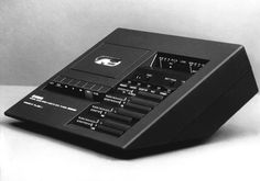 Mario Bellini  / TC 800 GL CASSETTE DECK, 1974  The first cassette deck I owned. Still have it...