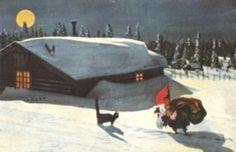 December 22: I heard Santa Claus was living in Scanadinavia! How do they celebrate Christmas?