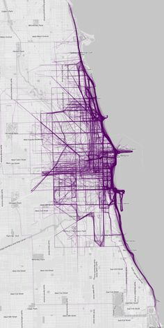 CHI - Mapping Where People Run - Jenny Xie - The Atlantic Cities