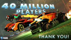 Rocket League now has 40 MILLION players worldwide https://twitter.com/RocketLeague/status/948312773565362176 #gamernews #gamer #gaming #games #Xbox #news #PS4
