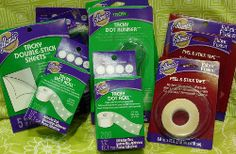Assortment of Aleene's Tacky Glue Dry Adhesives