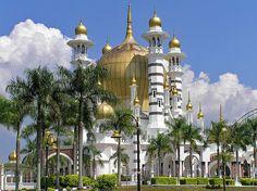 One of the most beautiful mosques in the world - Masjid Ubudiah Mosque  in KuaSJla Kangsar, Malaysia.