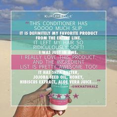 """@nknaturalz says, """"Thirsty Kurls Leave-in Conditioner has sooooo much slip. it is definitely my favorite product from the entire line. It left my hair so ridiculously soft! I was just in awe. I really love this product. And the ingredient list is pretty awesome too! IT has Shea Butter, Jojoba Seed Oil, Honey, Hibiscus Extract, Aloe Vera Leaf Juice and so much more."""" #KurleeBelle 🌴🌺🍯 Now available at www.kurleebelle.com, Amazon.com, Your local #Walmart in Florida, Georgia and Texas or…"""