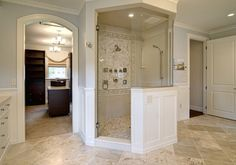 Master Bathrooms With Closets Design, Pictures, Remodel, Decor and Ideas - page 314