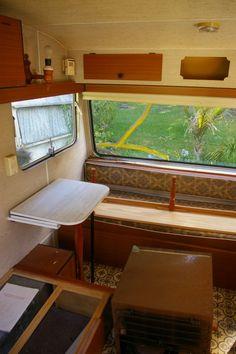 Alphie, Before make over Retro Caravan, Caravans, New Zealand