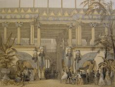The Assyrian Court was also called the Nineveh Court.