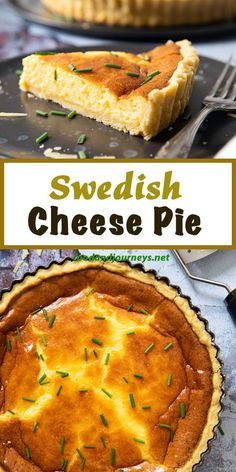 Serve a slice with some salad and you're good to go for a light meal or perhaps for brunch? Swedish Cheese Pie a traditional Midsummer dish in Sweden is also excellent served as an appetizer. Swedish Cuisine, Swedish Dishes, Swedish Foods, Swedish Food Traditional, Swedish Christmas Food, Viking Food, Nordic Recipe, Finnish Recipes, Kitchen