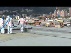 Apliarqui #Impermeabilización #Poliurea #Sikalastic 8800 #Sikalastic 841 ST #Sika #Cali #Colombia - YouTube