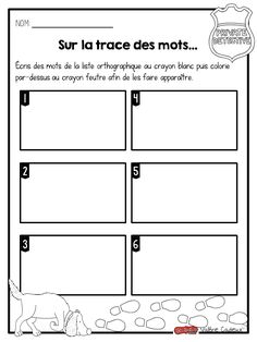 La classe de Madame Valérie Teaching French Immersion, Core French, French Classroom, French Resources, Daily 5, Sight Words, Literacy Centers, Teaching Tools, Elementary Schools