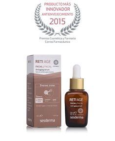 """Enhorabuena a #Sesderma por recibir el premio  al """"Producto más innovador #antienvejecimiento 2015"""" #RetiAge"""
