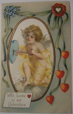 https://flic.kr/p/4k32W9 | Vintage Valentines Day Postcard