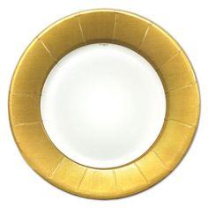 Linen Gold Dinner Plates | PaperStyle  sc 1 st  Pinterest & Faux Porcelain Round Gold Dinner Paper Plates | Chandler Turns 1 ...