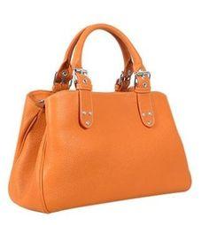 other products fontanelli soft calf leather satchel bag Mens Satchel, Satchel Purse, Satchel Handbags, Leather Satchel, Calf Leather, Orange Bag, Orange Leather, Cute Bags, Louis Vuitton Speedy Bag