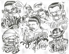 Chicano Style: Gangster of Love- Pimp - Clownster - Thug- Hustler