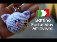Keychain kitty Amigurumi, World Of Amigurumi. Hello everyone! In this tutorial, ill show you how to crochet this beautiful Keychain kitty in amigurumi :D Like this video if you like, comment, and share with your friends :D BUY EXCLUSIVE PATTERN ON MY Crochet Cowl Free Pattern, Easy Crochet Blanket, Crochet Blanket Patterns, Cat Keychain, Crochet Keychain, Crochet Dolls, Crochet Hats, Crochet Animals, Cat Crochet