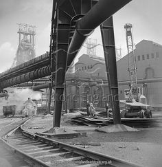 Canvas Print-Consett Steel Works inch Box Canvas Print made in the UK Old Pictures, Old Photos, Carnegie Steel, Bishop Auckland, Nuclear Submarine, Steel Mill, Victorian Buildings, Industrial Photography, Local History