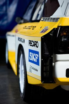 Audi S1. This is a close up view of the rear, something it's competition never got to see!