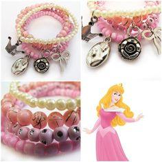 'Aurora' bracelet for your little girl! As pretty as princess Aurora! #kitzforkids
