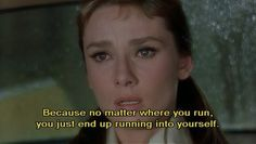 Breakfast at Tiffany's. One of my favorites.