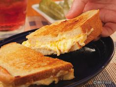 Ultimate Grilled Cheese Sandwich | mrfood.com Made this for National Grilled Cheese Day