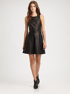 Rag & Bone - Renard Leather Dress